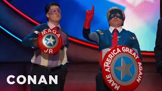 Introducing: Captain Make America Great Again Jr.  - CONAN on TBS