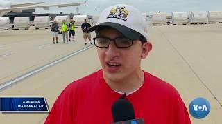 Vashington xalqaro aeroportidagi yillik xayriya tadbiri