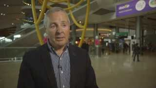 Winning The Giro - Stephen Roche at Dublin Airport 6