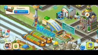 ТАУНШИП город и ферма #554  Знакомство с моим городом  Игровое видео