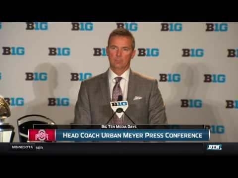 Urban Meyer - 2016 Big Ten Football Media Days