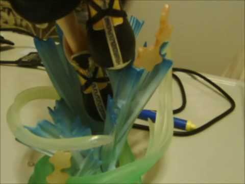 Kingdom Hearts II Static Arts: Sora PVC Statue Unboxing