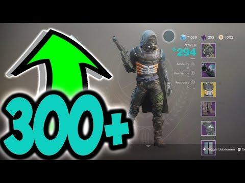 Destiny 2 HOW TO GET 300+ LIGHT EASY & FAST
