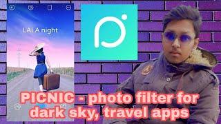 PICNIC photo filter for dark sky travel App screenshot 3