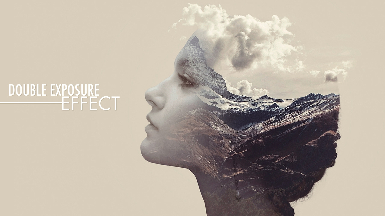 Double Exposure Effect - Photoshop Tutorial - YouTube