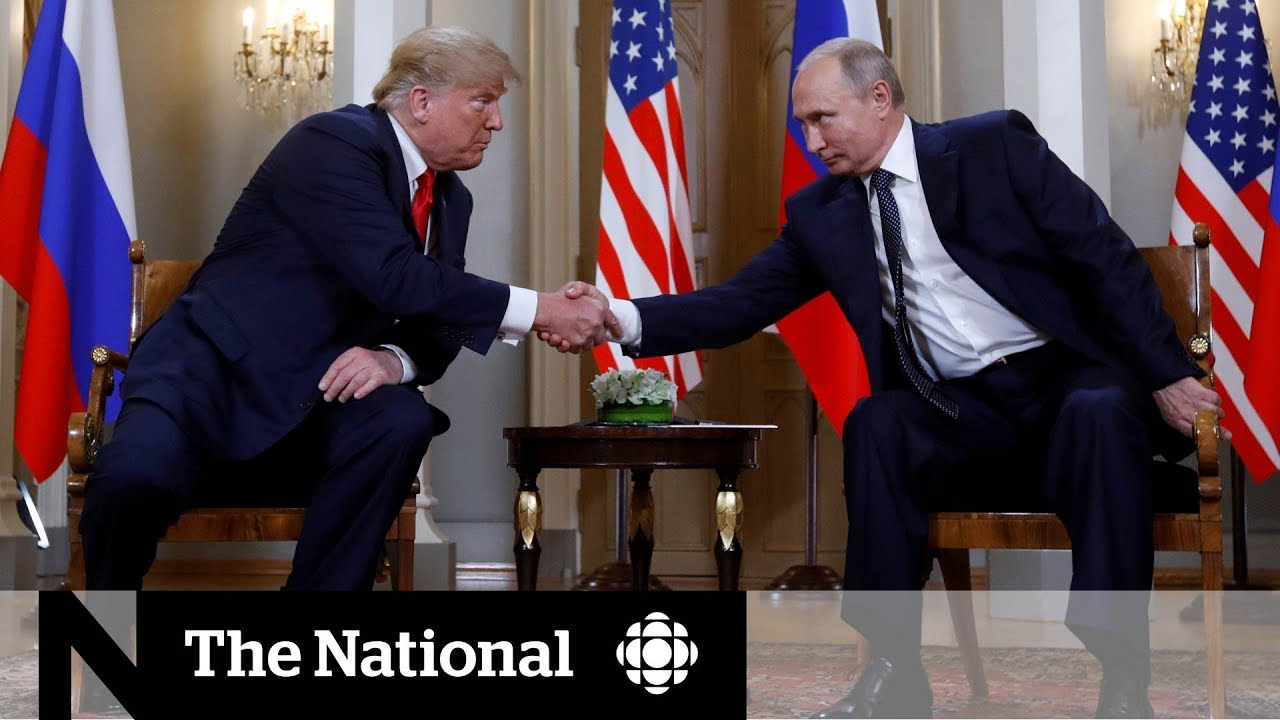 Trump greets Putin, defends Russia to horror of U.S.