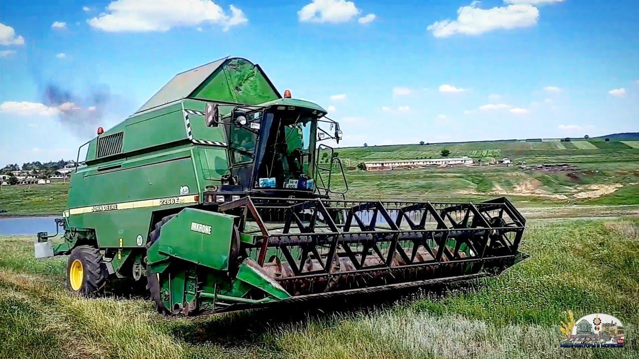 СТАРТ Уборка 2020!Начинаем убирать озимую пшеницу котороя пострадала очень сильно