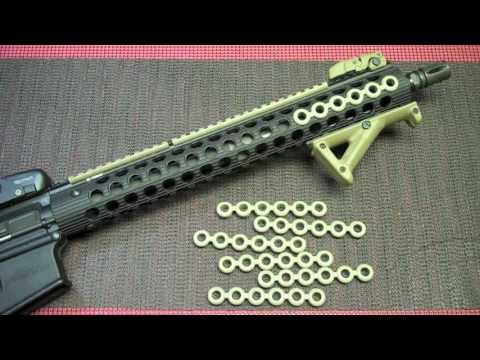 how to make paracord rail cover by the flea doovi. Black Bedroom Furniture Sets. Home Design Ideas