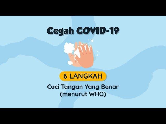 6 Langkah Cuci Tangan Yang Benar Untuk Cegah Covid 19 Youtube