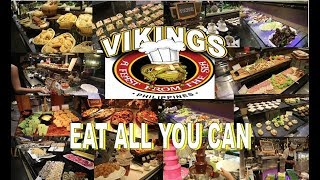 The Best Buffet in the Philippines: VIKINGS LUXURY BUFFET SM MALL OF ASIA