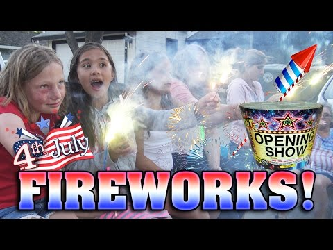 FIREWORKS!!! Dont Play with Fire! TNT OPENING SHOW! 4th of July