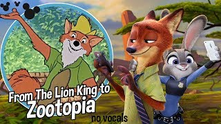 From THE LION KING to ZOOTOPIA || no vox