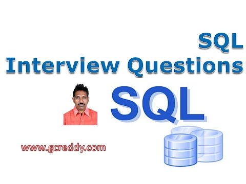 SQL Interview Questions and Answers - Software Testing