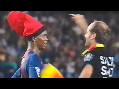 Funny Pitch Invader With Samuel Eto'o