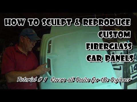 How to Make Fiberglass Car Panels