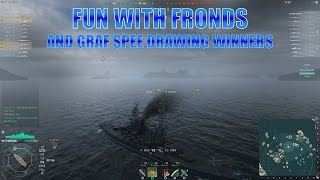World of Warships Graf Spee Drawing Winner(s) and Fun with Fronds