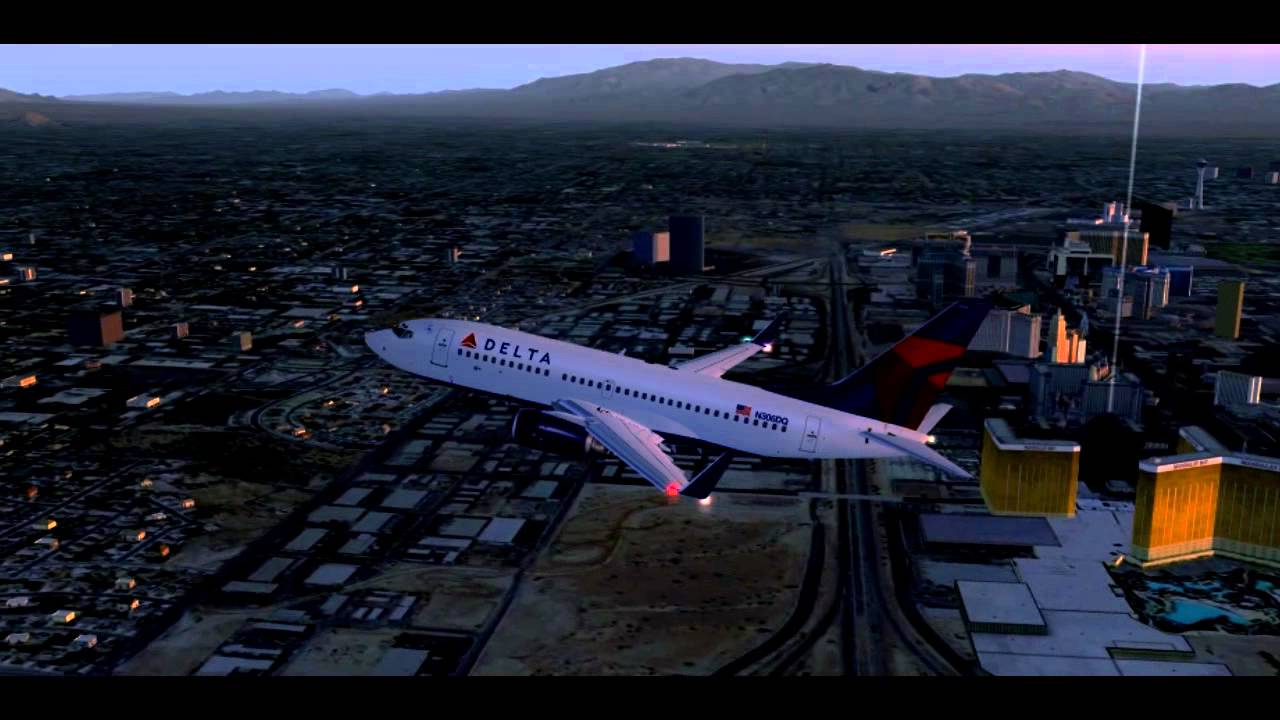 hd fsx delta airlines las vegas to salt lake city youtube. Black Bedroom Furniture Sets. Home Design Ideas