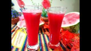 তরমুজের জুস/শরবত/How To Make Watermelon Juicec Bangla Recipe