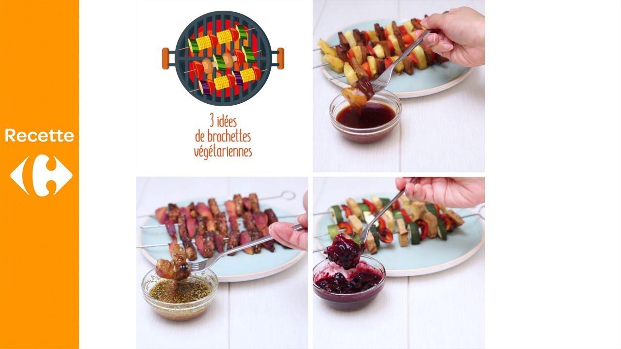 Idee De Brochette.3 Idées De Brochettes Végétariennes