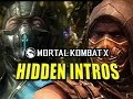 HIDDEN CHARACTER INTROS: Mortal Kombat X Leak (Latepril Fools)