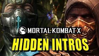 HIDDEN CHARACTER INTROS: Mortal Kombat X Leak (Latepril Fools)