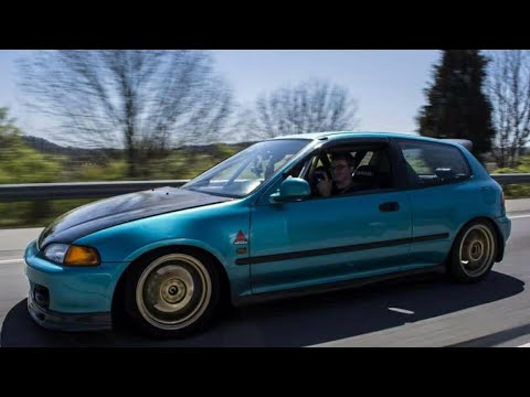 480HP Turbo Honda Civic Feature - GSR or Type R?
