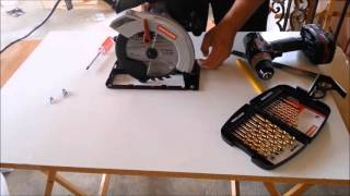 DIY How To Make A Homemade Table Saw - Winston Buzon