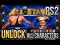 YouTube Turbo WWE All Stars PS2 - How to Unlock all Characters/Superstars PCSX2 [Ps2 Emulator]