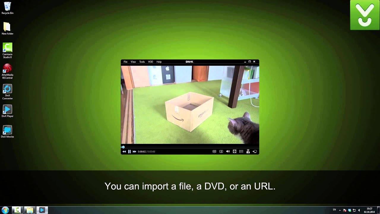 Comment convertir une vidéo en divx, xvid, avi, mpeg, wmv, mov?