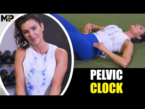 How To Do The Pelvic Clock Exercise