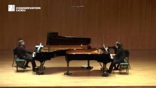 S RACHMANINOFF Vals i Tarantella de la Suite op  17 per a dos pianos