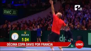 Décima Copa Davis para Francia