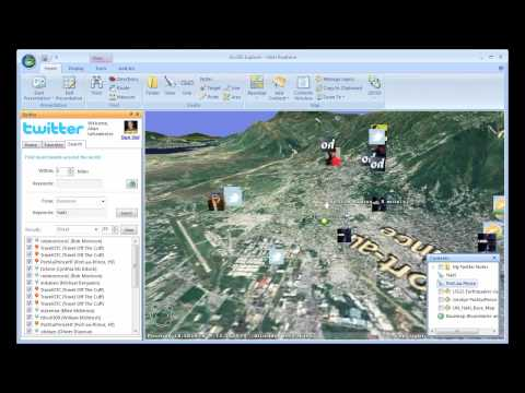 Social Media and Geo-Services: Real-time modeling of the disaster situation in Haiti
