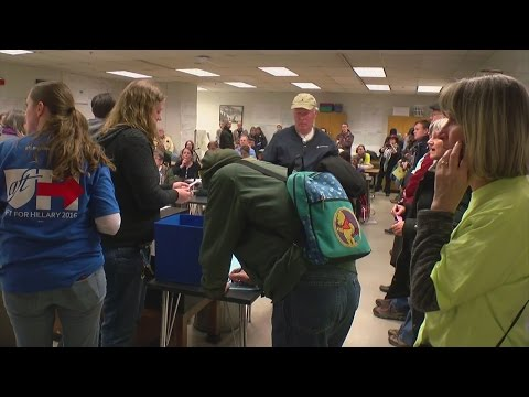 Large Voter Turnout Leads To Caucus Frustration