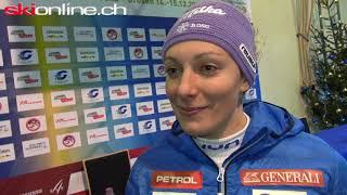 Im Interview mit Ilka Stuhec in Val Gardena
