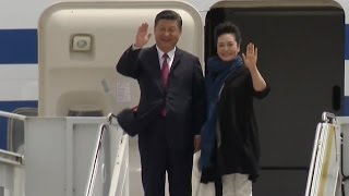 Xi Arrives in Florida For First Meeting With Trump