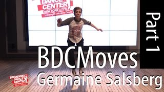 vuclip BDCMoves w/ Germaine Salsberg TAP Time Steps and Break [1 of 3]