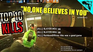 "🔊""NO ONE BELIEVES IN YOU"" - BEST SIEGE TOP 10 PLAYS (WBCW #248)"