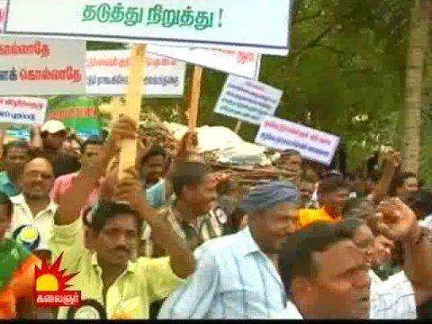Tamil film industry protests against Tamil genocide in Sri Lanka
