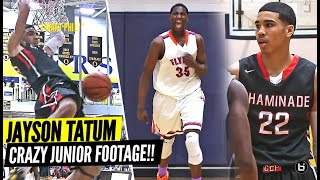 Jayson Tatum SAUCES UP Team For 40 Points In High School!! WILD SOLD OUT GAME!