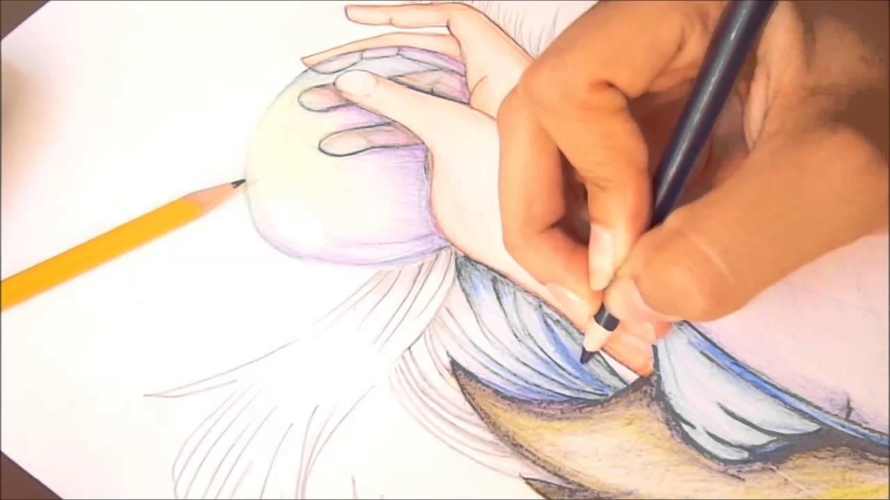 dibujo a color bsico contraste y juego de color luisa fernanda arroyo youtube