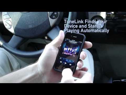 TuneLink Auto Wireless Bluetooth Audio accessory for iPhone, iPad and iPod touch by New Potato