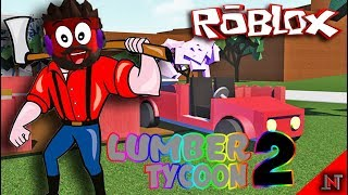 ROBLOX Indonesia #9 first time main lumber tycoon 2 😝😆😁