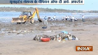 Good News: Locals remove 53 lakh kg waste from Mumbai's Versova beach to make it clean