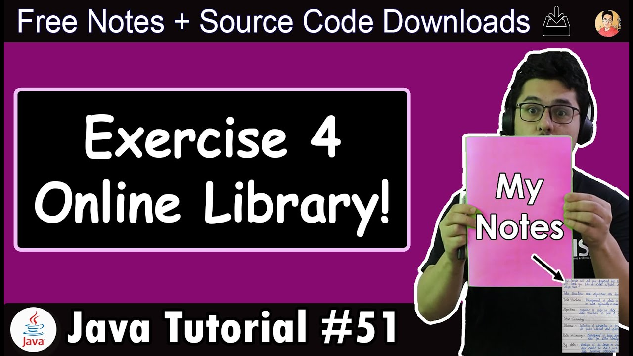 Java Tutorial: Online Library
