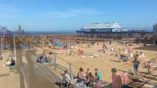 Cleethorpes beach, North Lincolnshire