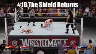 Gore And Perkins - Top 10 WrestleMania Moments! (Season 3)