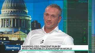 Naspers CEO Talks Tencent Stake, Taking on Netflix and Facebook