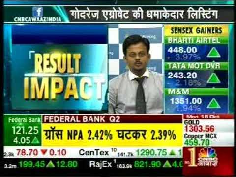 Buy Bharti Airtel with a target of INR 478- Mr. Sameet Chavan, 16th October