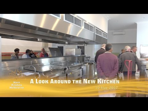 A Look Around the New Kitchen